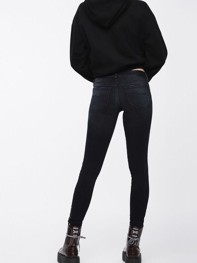Diesel - Skinzee Low Zip 084XW, Bleu Foncé - Jeans - Image 2