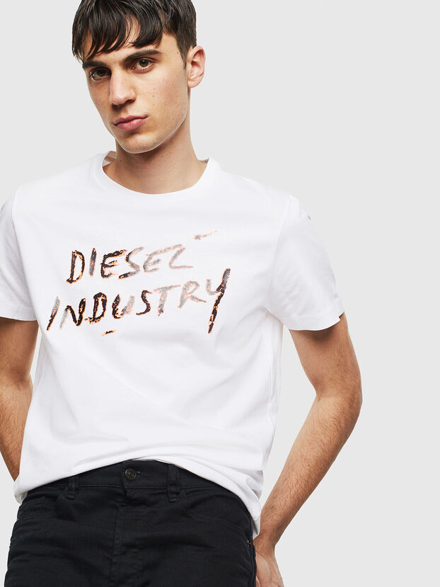 T-DIEGO-S15, Blanc - T-Shirts