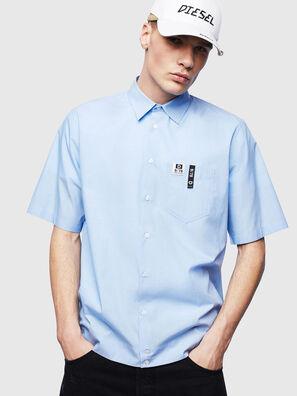 S-FRY-FLUO, Bleu Clair - Chemises
