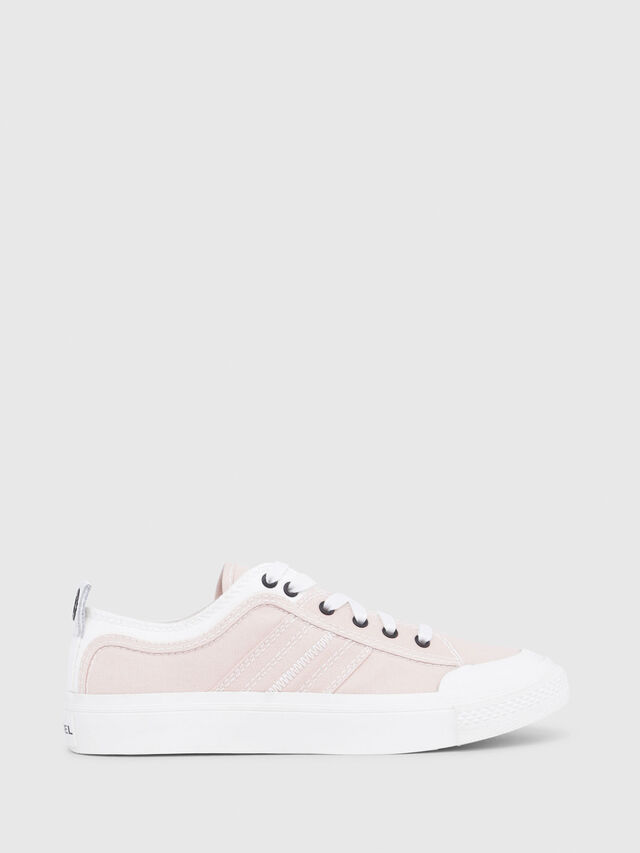 Diesel - S-ASTICO LOW LACE W, Rose/Blanc - Baskets - Image 1
