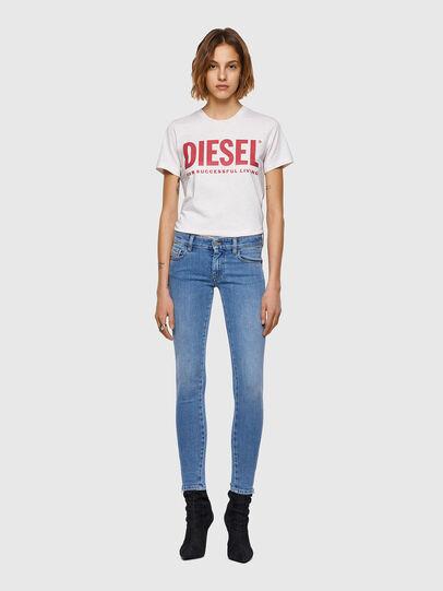 Diesel - Slandy Low 009ZY, Bleu Clair - Jeans - Image 5