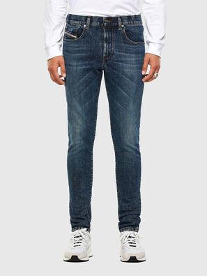 D-Strukt 009AR, Bleu moyen - Jeans