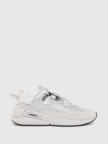 Sneakers en nylon réfléchissant