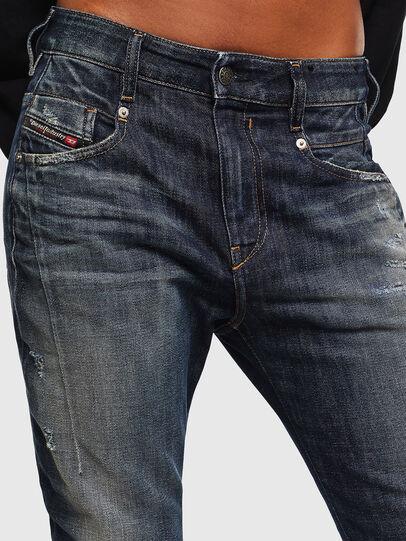 Diesel - Fayza 0096U, Bleu Foncé - Jeans - Image 3
