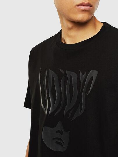Diesel - T-JUST-J10, Noir - T-Shirts - Image 3
