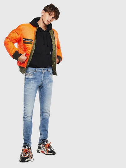Diesel - Tepphar 009BU, Bleu Clair - Jeans - Image 7