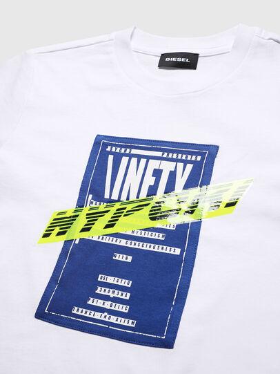 Diesel - TJUSTY7, Blanc - T-shirts et Hauts - Image 3