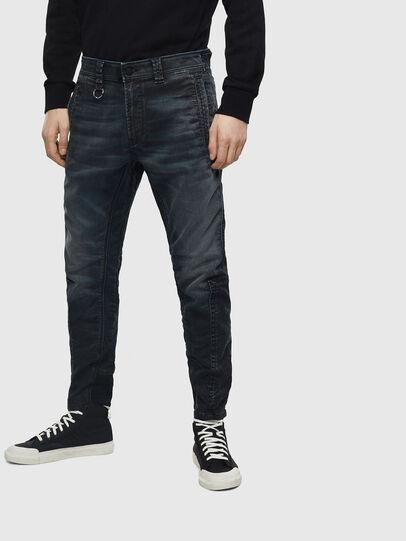 Diesel - D-Earby JoggJeans 069MD, Bleu Foncé - Jeans - Image 1
