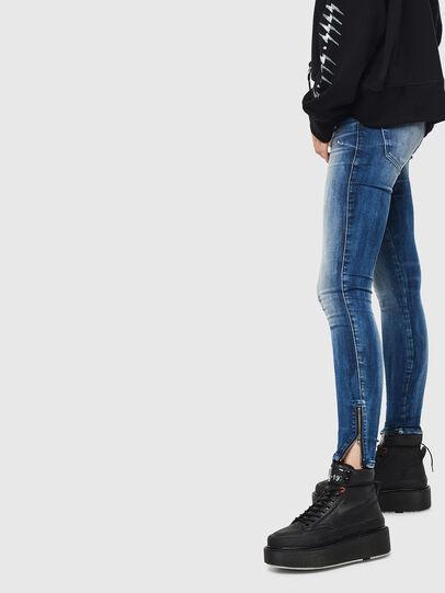 Diesel - Slandy Low 0095C, Bleu moyen - Jeans - Image 2