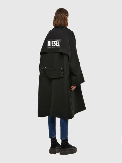Diesel - W-TILLER, Noir - Vestes d'hiver - Image 7
