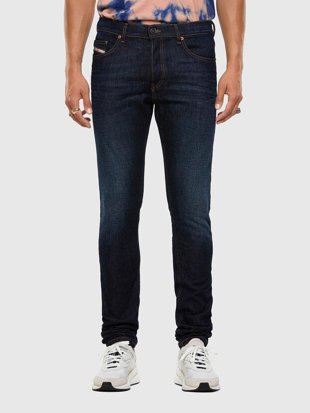 D-Luster 009EQ, Bleu Foncé - Jeans
