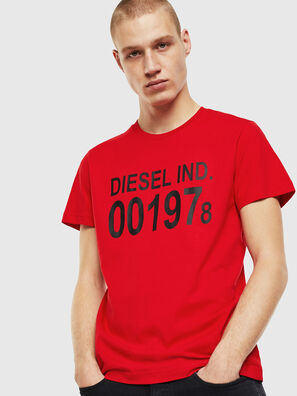 T-DIEGO-001978, Rouge - T-Shirts