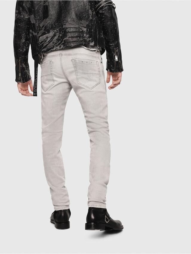 Diesel - Thommer 0684I, Gris Clair - Jeans - Image 2