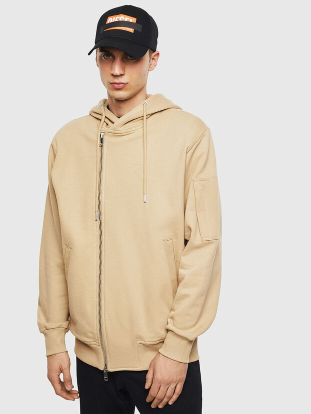S-GIANT, Beige - Pull Cotton