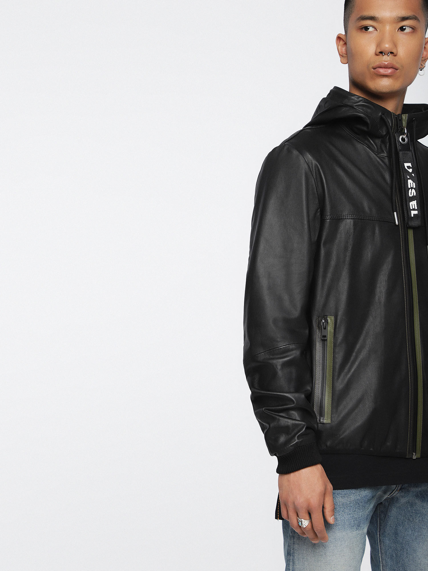 With Hunch The Homme Cuir De On Go Vestes qTI8x