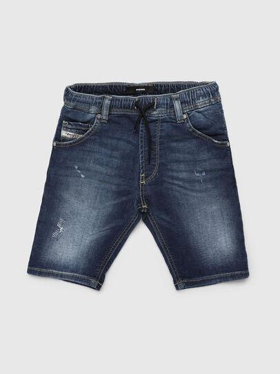 Diesel - KROOLEY-JOGGJEANS-J SH, Bleu moyen - Shorts - Image 1