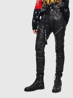 P-VON-L, Noir - Pantalons