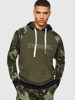 UMLT-BRIAN, Vert Camouflage - Pull Cotton