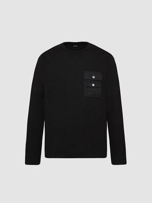 T-TASK-LS, Noir - T-Shirts