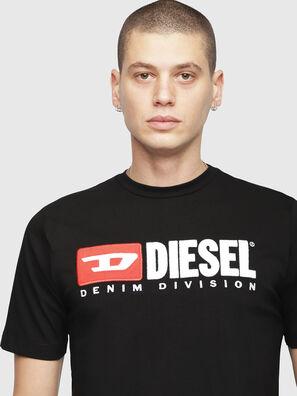 T-JUST-DIVISION, Noir - T-Shirts