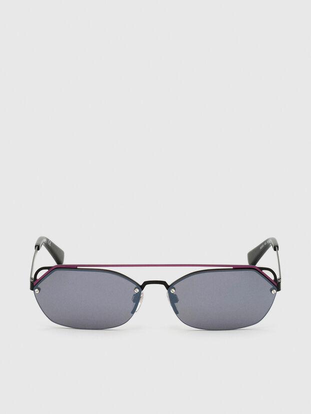 DL0313, Noir/Violet - Lunettes de soleil