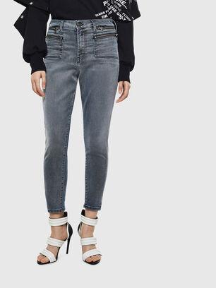 D-Eifault JoggJeans 069LT, Bleu Foncé - Jeans