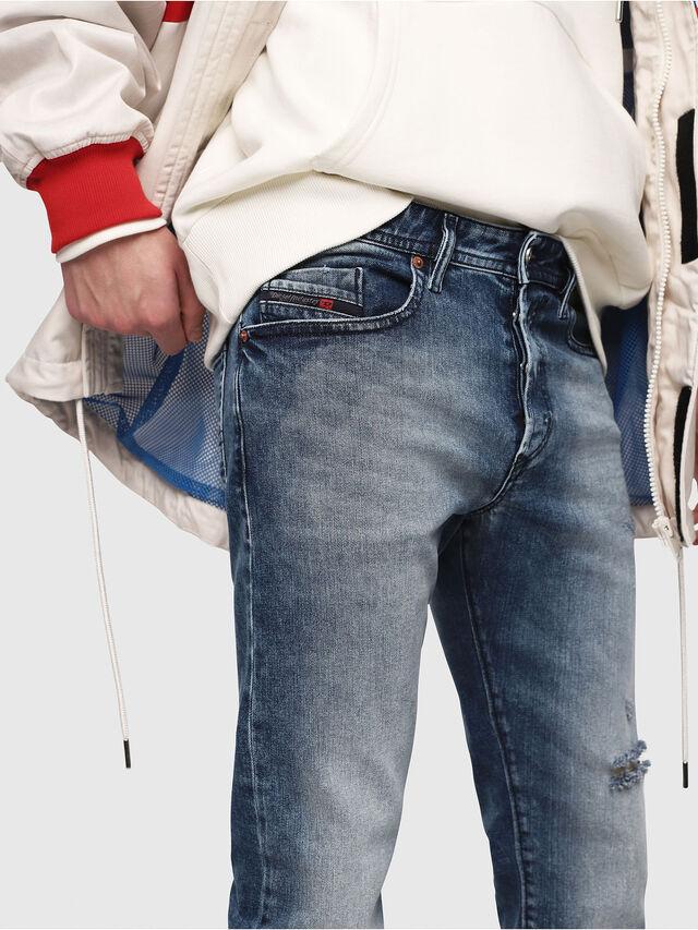 Diesel - Buster 081AQ, Bleu moyen - Jeans - Image 4