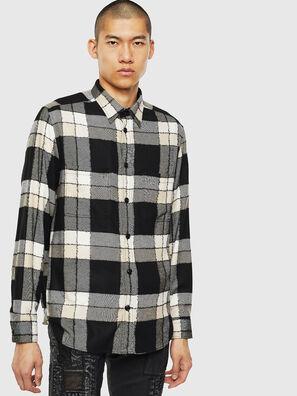 S-MILLER-COUPE, Noir/Blanc - Chemises