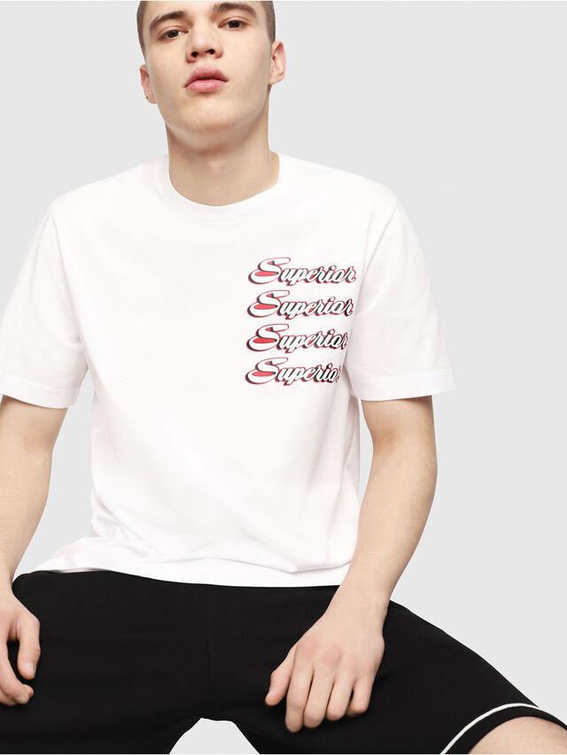 Diesel - T-JUST-Y13, Blanc - T-Shirts - Image 3