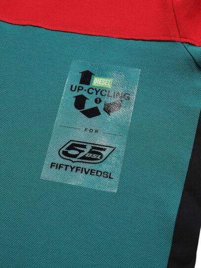 Diesel - D-IHATEPOLOS, Vert/Rouge - Polos - Image 4