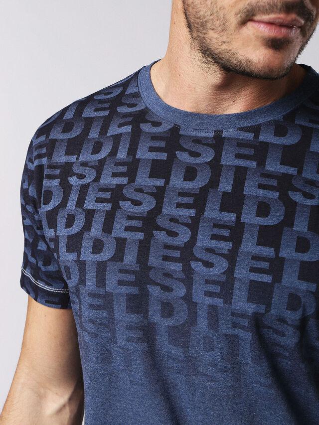 Diesel - UMLT-JAKE, Bleu - T-Shirts - Image 3