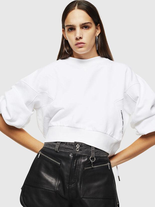 F-MONDY, Blanc - Pull Cotton