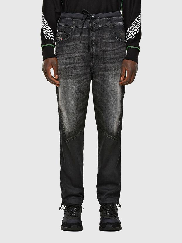 D-Skint JoggJeans 069PC, Noir/Gris foncé - Jeans