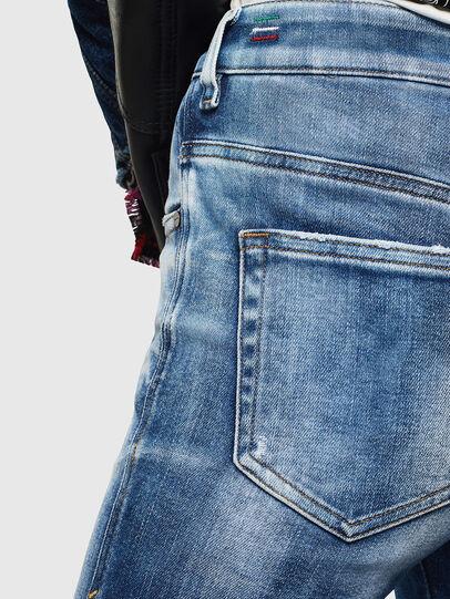 Diesel - Slandy High 0096J, Bleu moyen - Jeans - Image 6
