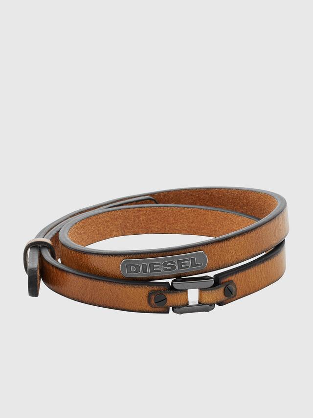 Diesel - DX0984, Marron - Bracelets - Image 1
