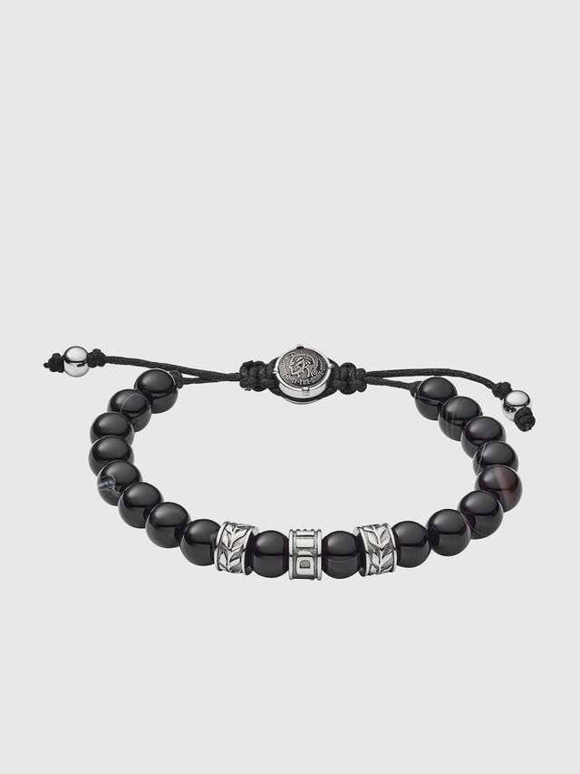 Diesel - DX1101, Noir - Bracelets - Image 1