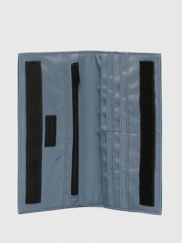 Diesel - 24 A DAY WITH STRAP, Bleu Marine - Portefeuilles Continental - Image 3