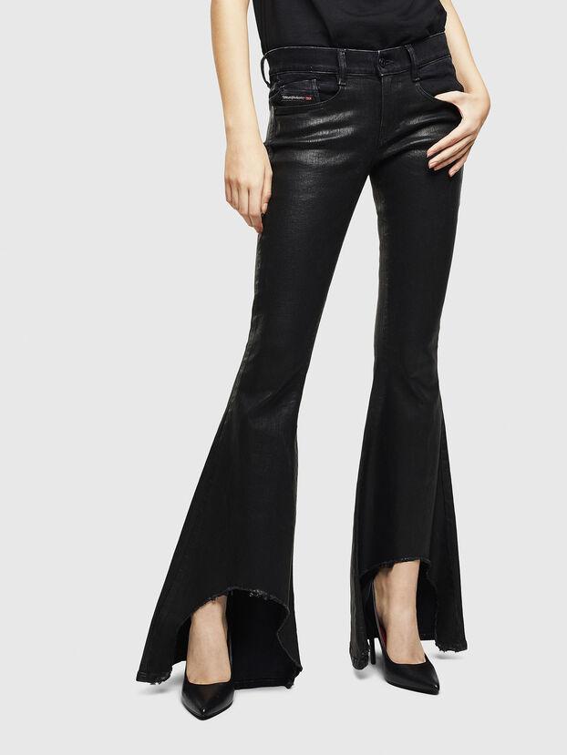 D-Ferenz 0091G, Noir/Gris foncé - Jeans