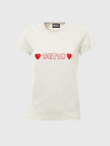 T-shirt avec imprimé Detox