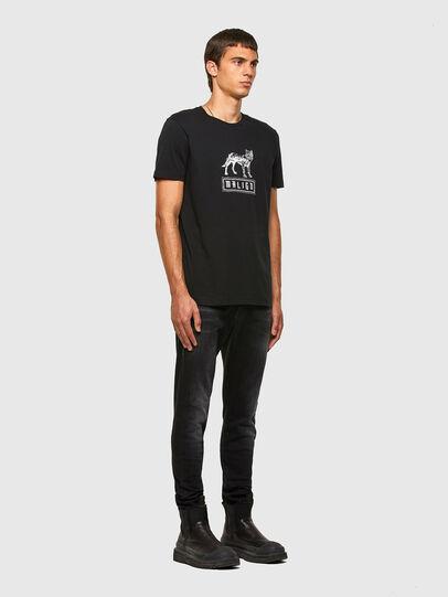 Diesel - T-DIEGOS-N20, Noir - T-Shirts - Image 4