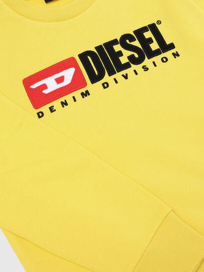 Diesel - SCREWDIVISION OVER, Jaune - Pull Cotton - Image 3