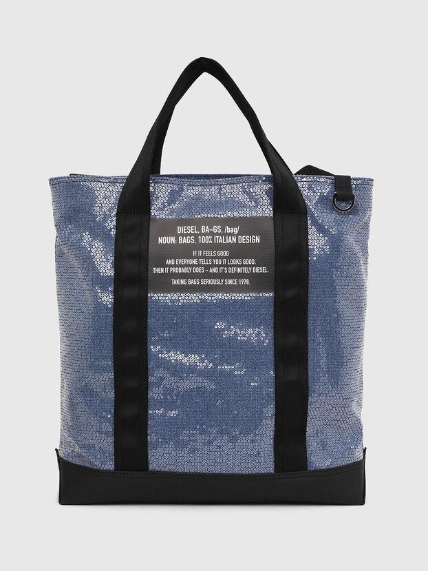 F-THISBAG SHOWAY, Bleu/Noir - Cabas et Sacs d'Épaule