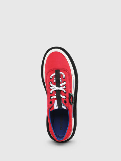 Diesel - H-SCIROCCO LOW, Rouge Flamme - Baskets - Image 4
