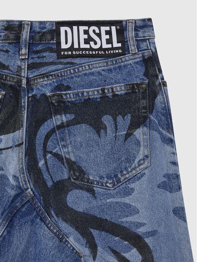 Diesel - DE-SPIZ, Bleu Clair - Jupes - Image 4
