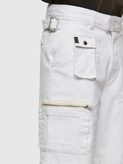 Diesel - D-CYAN-S-SP1, Blanc - Shorts - Image 3