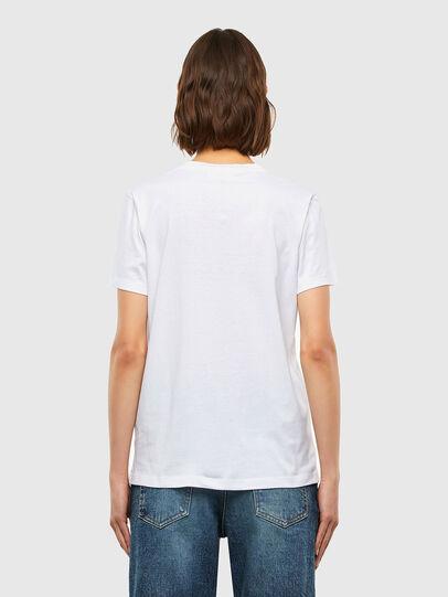Diesel - T-SILY-K4, Blanc - T-Shirts - Image 2