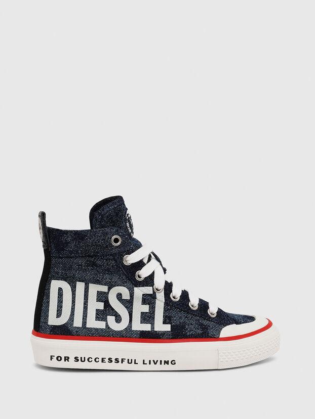 SN MID 07 MC CH, Bleu - Footwear