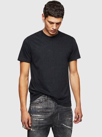 Diesel - T-THURE, Noir - T-Shirts - Image 1