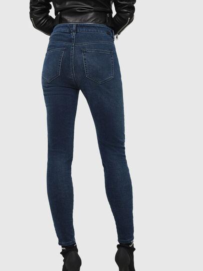 Diesel - Slandy High 084UT, Bleu Foncé - Jeans - Image 2
