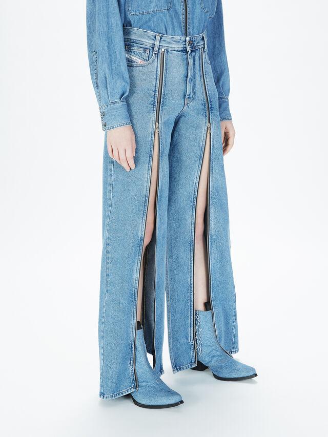 Diesel - SOWL01, Bleu Clair - Pantalons - Image 6